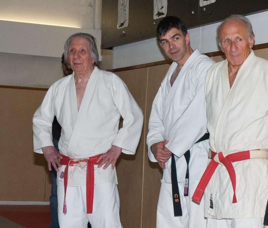 Photo avec Luc Levannier et Jacques Sergent