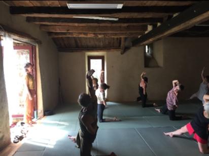 Stage yoga méditation ardèche