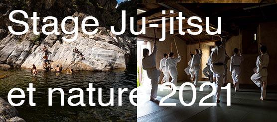 jujitsu et nature montagne 2021