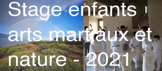 arts martiaux et nature stage